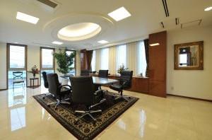 エクレシア法律事務所会議室