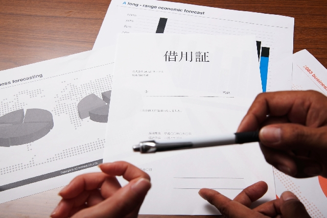 債権回収・借用書のイメージ
