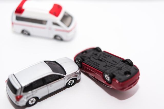 交通事故弁護士人身事故物損事故切り替えのイメージ